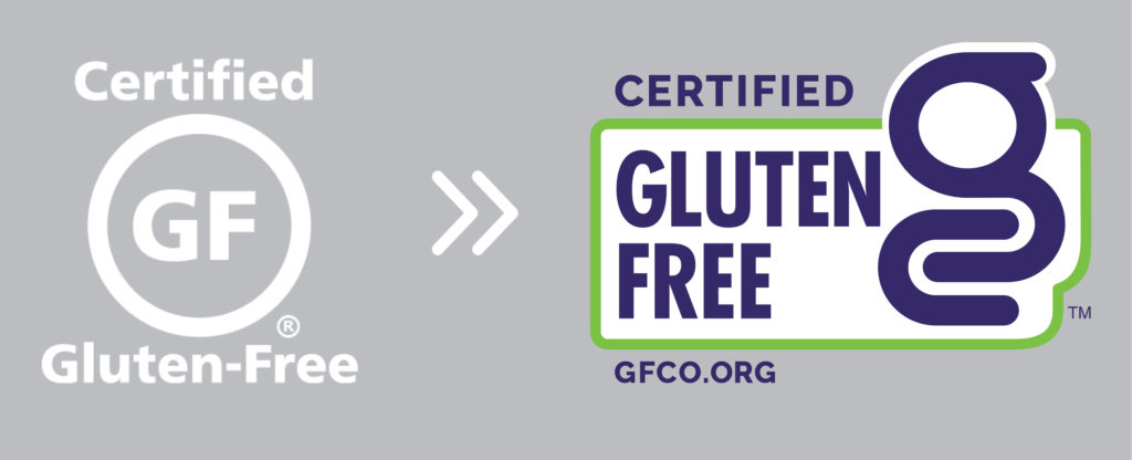 the old GFCO mark and the New GFCO Certification Mark