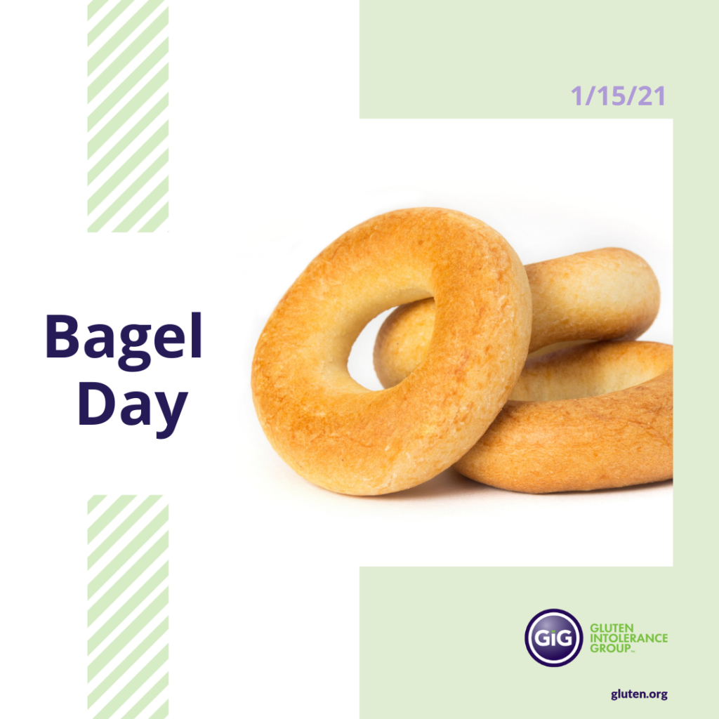 National Food Holiday Bagel Day