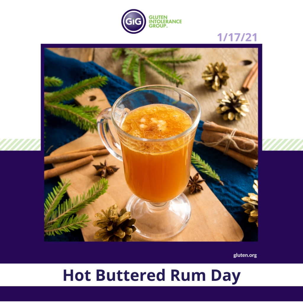 National Food Holiday Hot Buttered Rum Day
