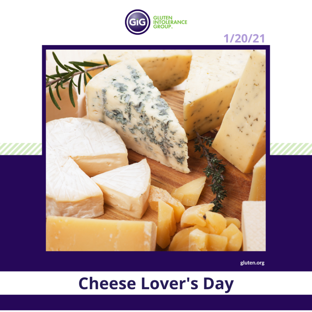 Cheese Lovers Day New Year New Food