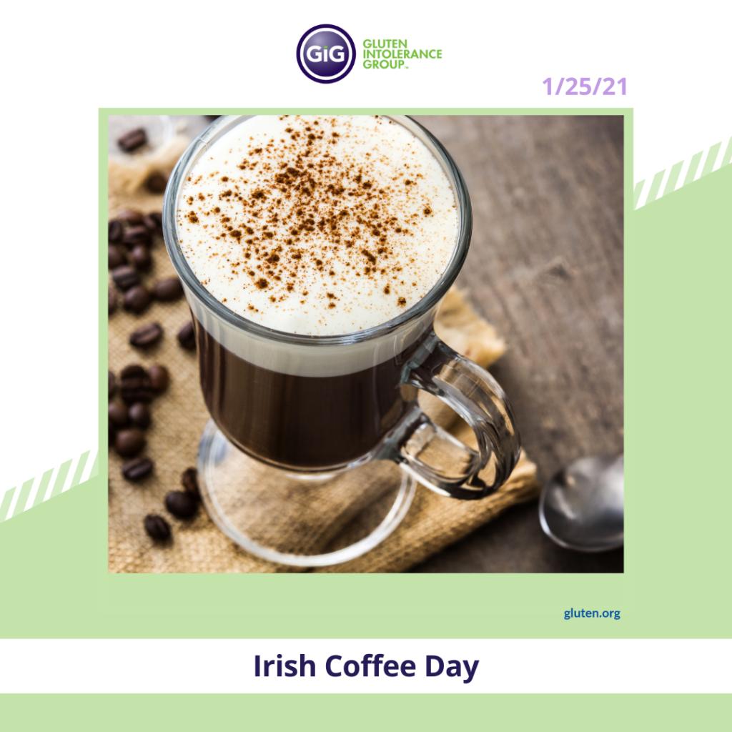New Year New Food Irish Coffee Day