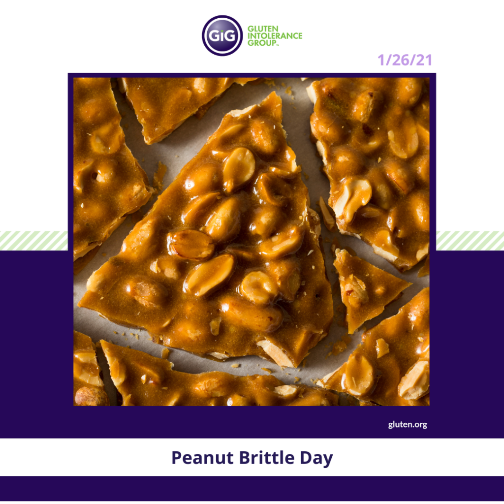 New Year New Food Peanut Brittle Day