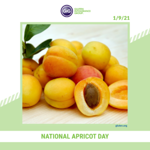 gluten-free food: apricots