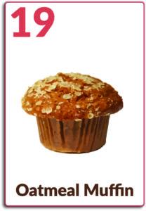 Day 19, Oatmeal Muffin