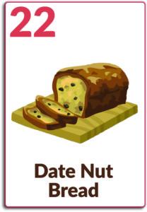 Day 22, Date Nut Bread