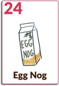 Day 24, Egg Nog