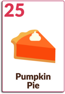 Day 25, Pumpkin Pie