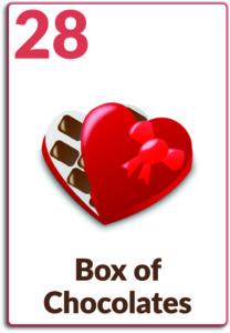 Day 28, Box of Chocolates