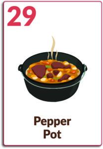 Day 29, Pepper Pot