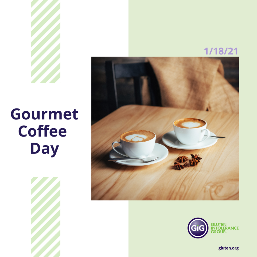 National Food Holiday coffee day