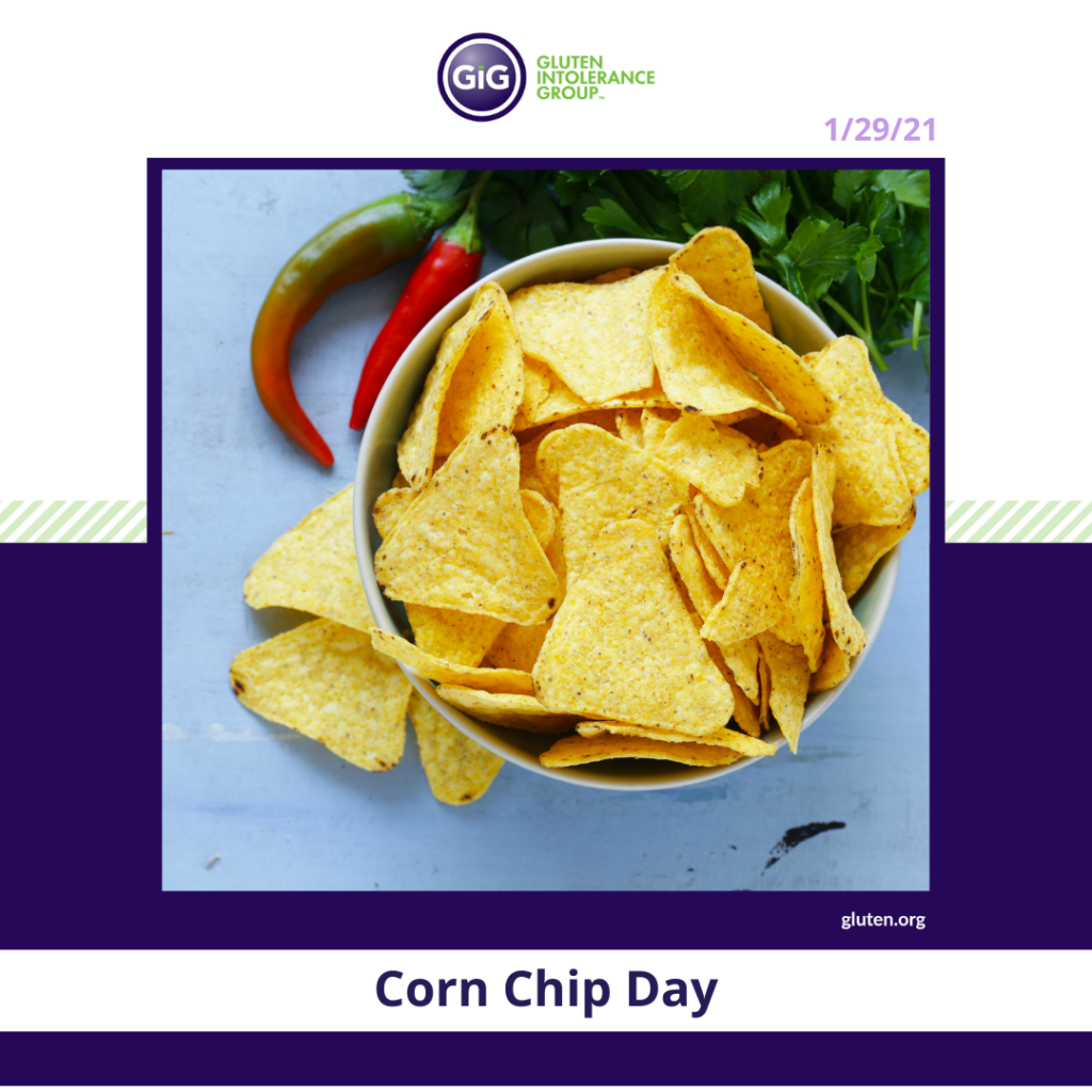 New Year New Food Corn Chip Day