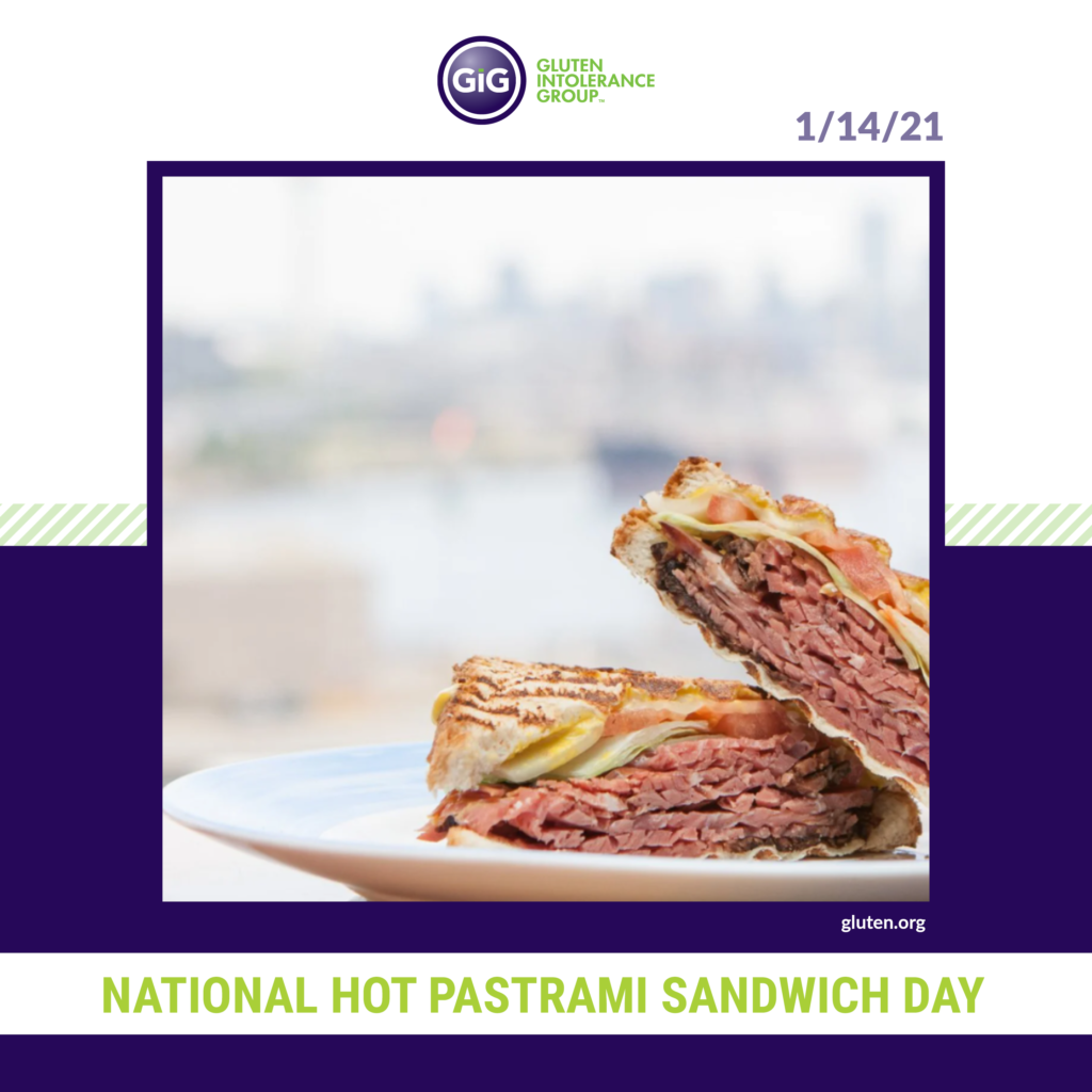 National Food Holiday Hot Pastrami Sandwich Day