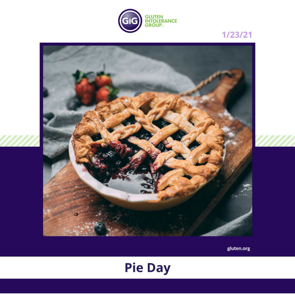 Pie Day New Year New Food
