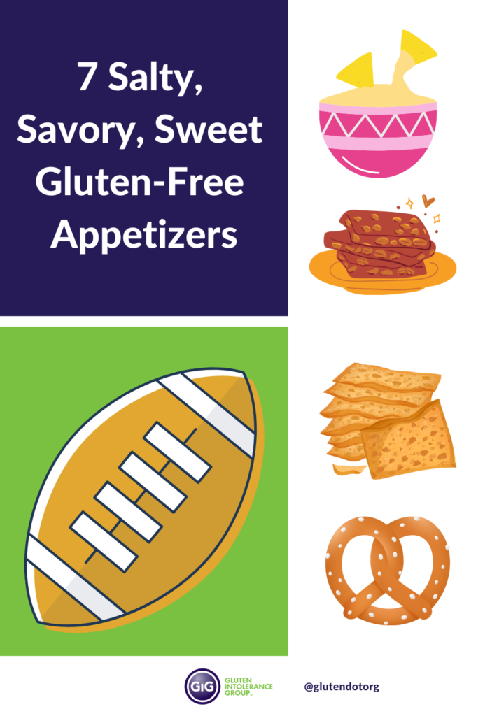 7 salty savory and sweet gluten-free appetizers