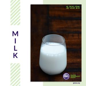 gluten-free food: milk
